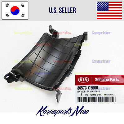 $21.02 • Buy Front Bumper Air Duct Left DRIVER ⭐86573G5000⭐ For Kia Niro 2017-2019