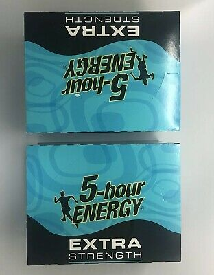$ CDN77.62 • Buy 5 Hour Energy Shot Blue Raspberry Extra Strength 1.93 Oz Bottles TWO 12 Ct Boxes