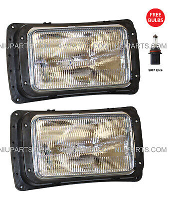 $109 • Buy Headlight -One Pair - LH And RH (Fit  91-04 Mack RD 600, 688, 690S, CH 613, 600)