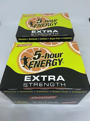 $ CDN80.30 • Buy 5 Hour Energy Orange Flavor TWO 12 Ct Boxes 1.93 Oz 24 Ct Extra Strength
