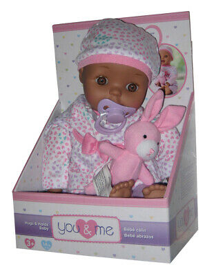 AU111.91 • Buy You & Me Hugs And Holds Toys R Us Baby Doll W/ Pink Plush Bunny