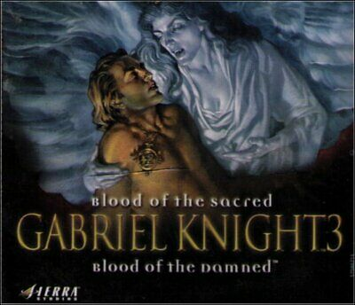 AU10.13 • Buy Gabriel Knight 3: Blood Of The Sacred Blood Of The Damned PC Video Game