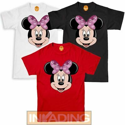 Hen Party Tops Disney Inspired By Minnie Mouse Printed Ladies Girls T-shirt • 7.59£
