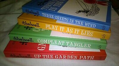 £4.99 • Buy THELWELL - Set Of Four Funny Books - Golf - Fishing - Gardening - Sailing - GIFT