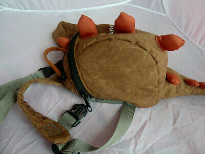 LITTLE LIFE TODDLERS REINS / BACKPACK / HARNESS WITH HANDLE - Dinosaur • 11.50£