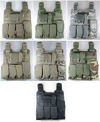 $49.99 • Buy New Tactical USMC Molle Assault Lightweight Plate Carrier Rig Airsoft Hunting
