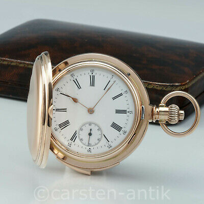 £31442.12 • Buy Constant Piguet Four Hammer Carillon Minute Repeater 1897 Patent 18k Gold Box