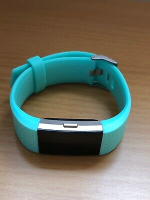 $ CDN39.12 • Buy FITBIT CHARGE 2 Activity Tracker With Large Mint  Green Generic Strap Cracked
