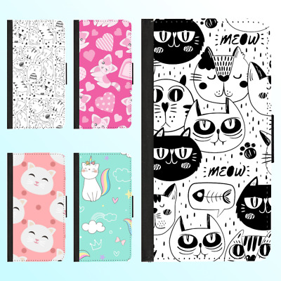 AU13.99 • Buy IPhone XS Max XR X 8 Plus 7 6s 6 Case Flip Wallet Shockproof Cat Kitty Cover