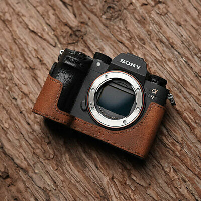 $ CDN96.18 • Buy Genuine Leather Camera Holster Case Cover Bodysuit For SONY A9 A7Riii A7iii MK3