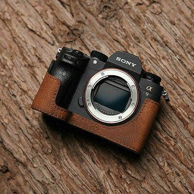 $ CDN99.05 • Buy Genuine Leather Camera Holster Case Cover Bodysuit For SONY A9 A7Riii A7iii MK3