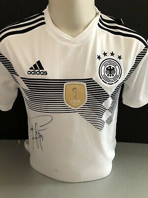 Signed Stefan Effenberg Retro Germany Adidas Home Shirt • 149.99£