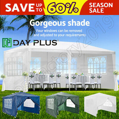 Outdoor Gazebo Folding Camping Waterproof UV-resistant Tent Canopy Marquee Shade • 66.09£