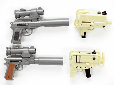AU10.02 • Buy Mini Spring Airsoft Plastic BB Pistol Machine Gun 6MM Pellet 1 Random Toy