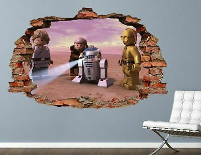 £14.67 • Buy Lego Star Wars Wall Decals Stickers Mural Home Decor For Bedroom Art AH386
