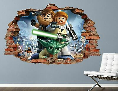 £41.90 • Buy Lego Star Wars Jinn Wall Decals Stickers Mural Home Decor For Bedroom Art AH387
