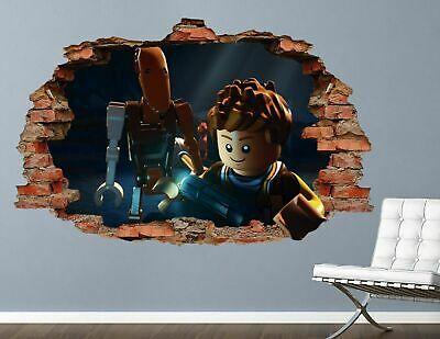£32.13 • Buy Lego Star Wars Jyn Wall Decals Stickers Mural Home Decor For Bedroom Art AH390