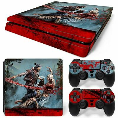 AU32.12 • Buy PS4 Slim Playstation 4 Console Skin Decal Sticker Days Gone + 2 Controller Skins