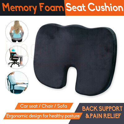 AU21.89 • Buy Memory Foam Lumbar Back Pillow Support Back Cushion Home Office Car Seat Chair