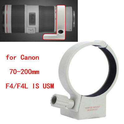 £8.88 • Buy Tripod Mount Collar Ring For Canon EF 70-200mm F/4L IS USM Camera Lens TG