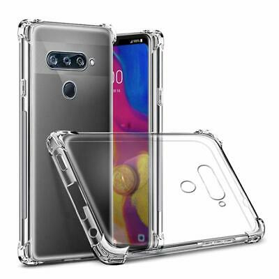 AU8.99 • Buy For LG V30+ Plus V40 V50 Thin Q Clear Case Heavy Duty Bumper Shockproof Cover
