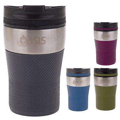 AU22 • Buy Oasis 280ml Stainless Steel Insulated Travel Cup/Flask For Coffee/Tea/Hot Drink