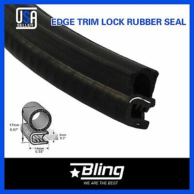 $27.99 • Buy Door Trunk Hood Guard 16' Auto Parts Weatherstrip EPDM Rubber Seal Edge Trim