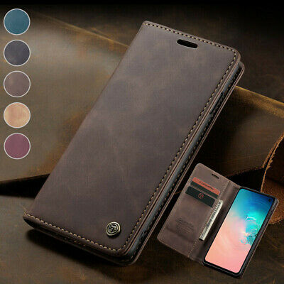 $ CDN7.55 • Buy For Samsung Galaxy S20 Ultra S10e S9 S8+ Note10+ Magnetic Wallet Case Flip Cover