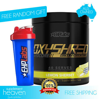 AU79.95 • Buy Oxyshred Hardcore Ultra 40 Serve EHP Labs Fat Weight Burner EHPLabs Oxy Shred