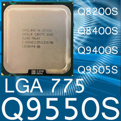 $ CDN24.14 • Buy Intel Core 2 Quad Q9550S Q8200S Q8400S Q9400S Q9505S LGA775 CPU Processor