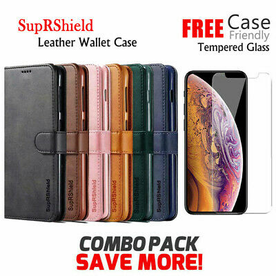 AU5.99 • Buy For IPhone XR X XS 12 11 Pro Max 7 8 6 6S SE Plus Wallet Leather Case Flip Cover