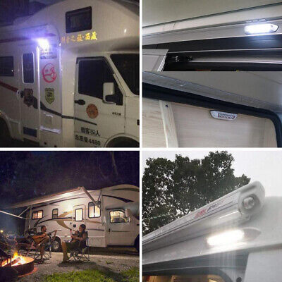 12V Waterproof Awning Lights RV LED Porch Lights Exterior LED Light Boats • 19.13$