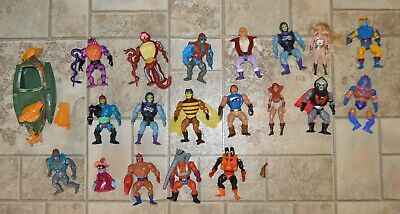 $189.95 • Buy MOTU, He-Man Figures Lot Vintage Masters Of The Universe Weapons Set