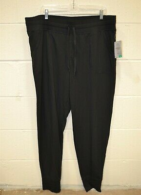 dc1e06d719 Danskin Now Women's Active Loose Fit French Terry Jogger Pant - XL/16-18
