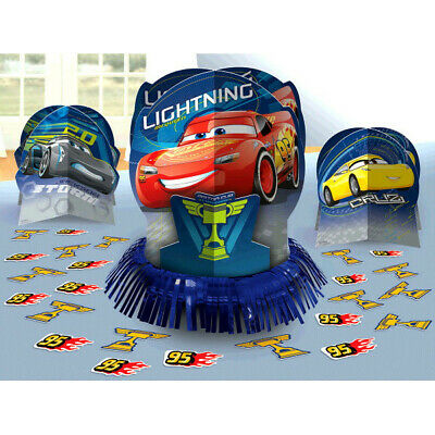 Disney Pixar CARS 3 Table Decorating Kit Party Decorations • 5.24£
