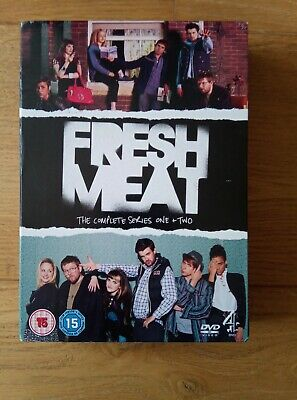 £2.50 • Buy Fresh Meat - Series 1 And 2 - Complete (DVD, 2013, 2-Disc Set, Box Set)