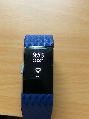 $ CDN51.05 • Buy FITBIT CHARGE 2 Activity Tracker With  Blue Generic Large Strap! Cracked Screen