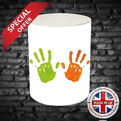 £65 • Buy Your Handprint On A Lampshade LightShade Boys Girls Bedroom Personalised Gift