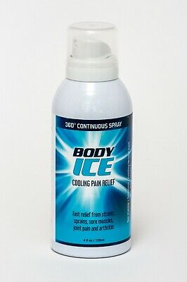 Body Ice Cooling Pain Relief Aerosol Spray 120ml - Cold Therapy • 9.25£