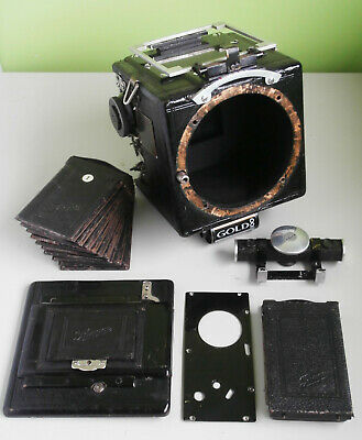 View Details Rare Ihagee Night Reflex 6x4.5cm Plate Camera Body Only For Spares • 550.00£