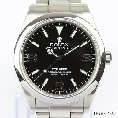 $ CDN12237.87 • Buy Rolex Explorer 39mm Ref. 214270 Stainless Steel Automatic