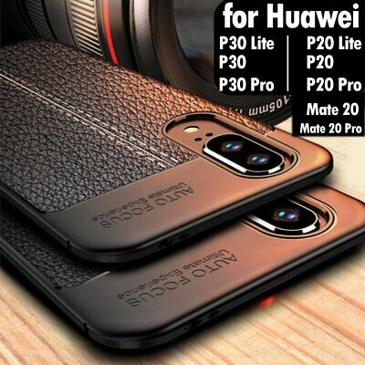 For Huawei P30 P20 Mate 20 Pro Lite New Leather Pattern Soft Slim Case Cover UK • 5.85£