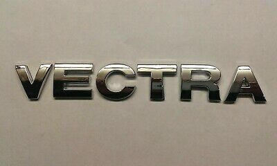 £7.99 • Buy New Chrome 3D Self-adhesive Car Letters Badge Emblem Sticker Spelling VECTRA
