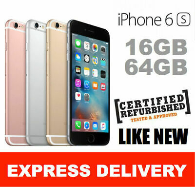 AU259 • Buy LIKE NEW IPhone 6S 16GB 64GB 128GB UNLOCKED SMARTPHONE EXPRESS FRM MELBOURNE