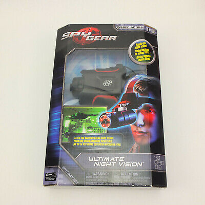 New SpinMaster Spy Gear Special Ops Ultimate Night Vision Over The Head Goggle • 94.11£