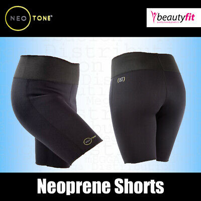 £4.25 • Buy Neotone Womens Active Gym Workout Shorts High Waist Elastic Yoga Fitness Pants