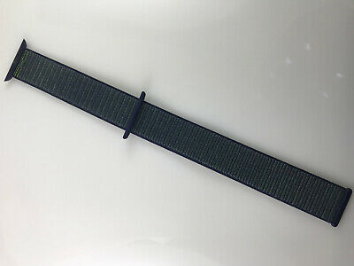 $ CDN59.87 • Buy Original Apple Watch Series 5 4 3 2 NIKE Sport Loop Band 42mm 44mm Midnight Fog