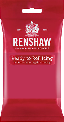 Fuchsia Pink Renshaw Ready To Roll Icing 250g Packets • 2.44£