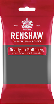 Grey Renshaw Ready To Roll Icing 250g Packets • 3.64£
