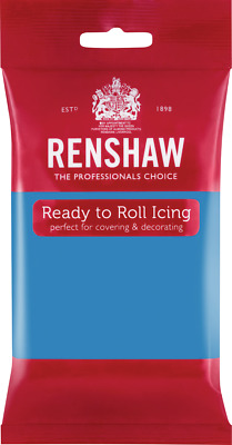 Turquoise Ready To Roll Icing 250g Packets • 2.44£